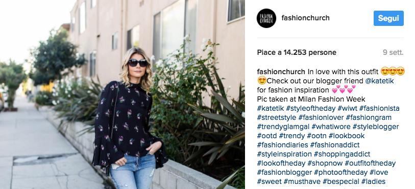 fashion hashtags