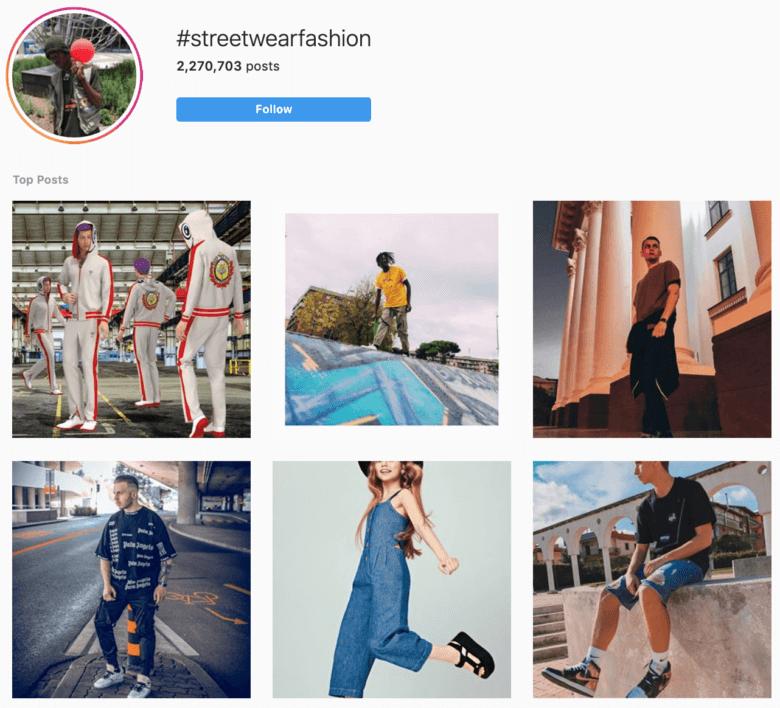 Utilisez ces hashtags streetwear pour vos tenues urbaines et urbaines.