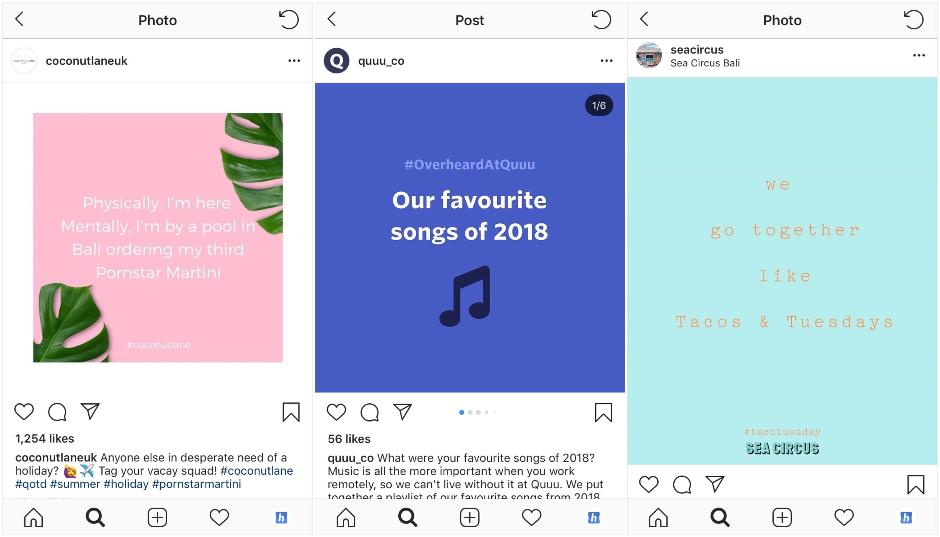 7 Instagram Post Ideas The Killer Content That Works