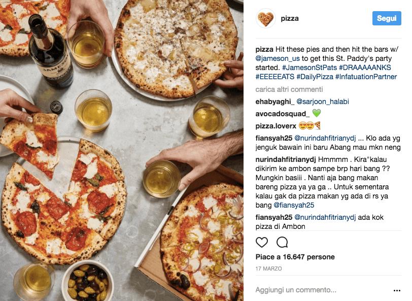Αποτέλεσμα εικόνας για #pizza Instagram