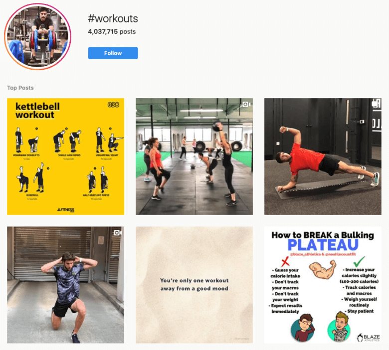 Top Fitness & Health Hashtags To Grow Your Instagram Account