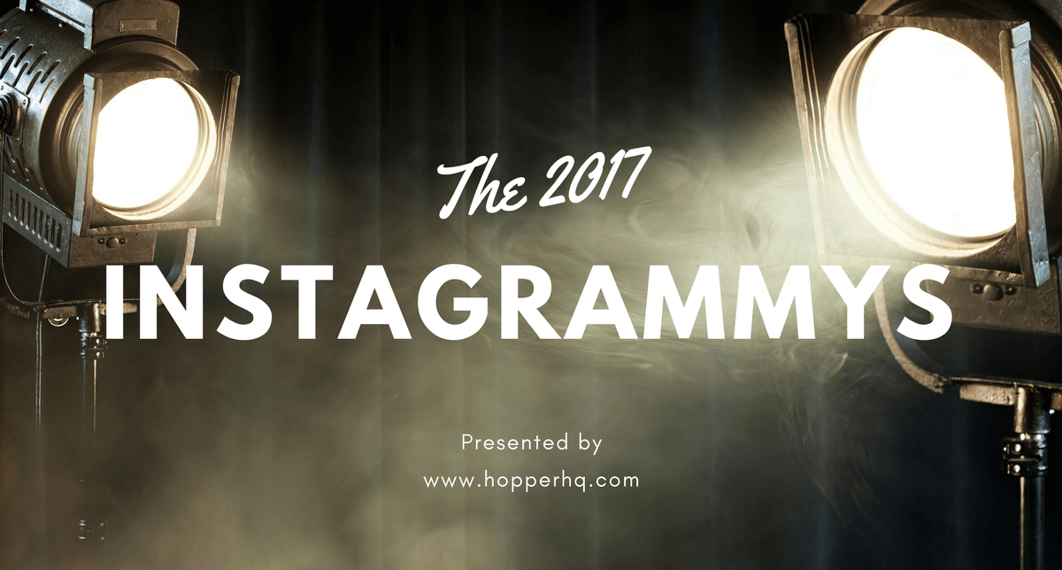 2017 Instagrammy Awards Presented By Hopper Hq