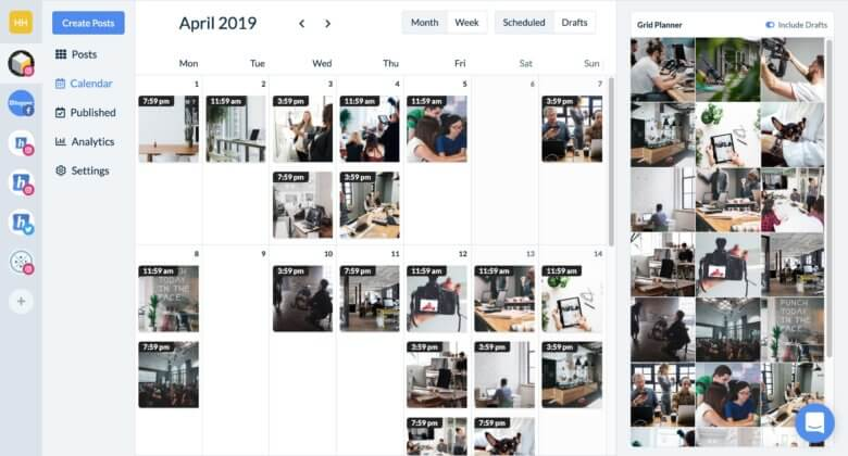 8 Instagram Themes To Make Your Feed Stand Out Hopper Hq