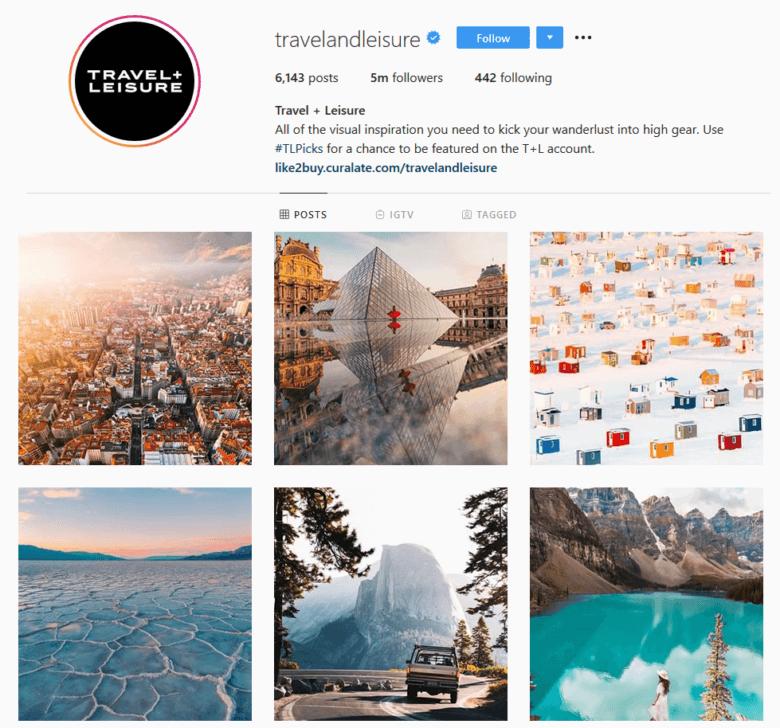 travelandleisure-instagram