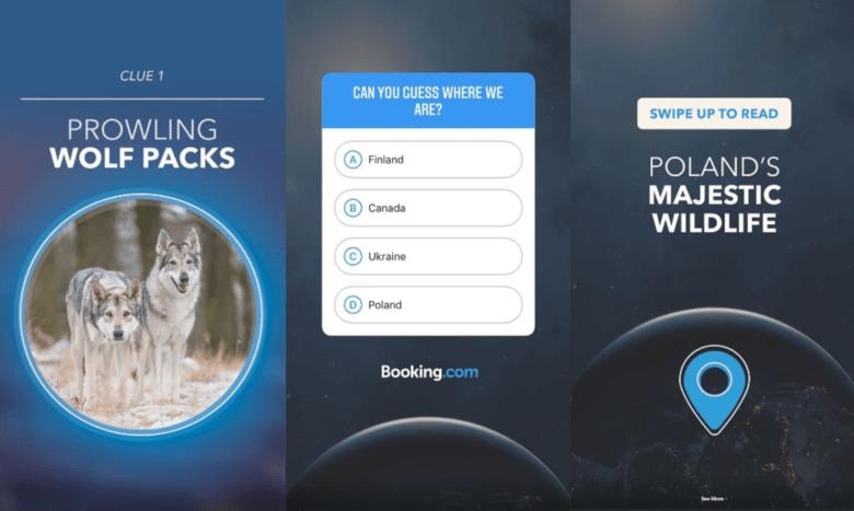 Booking.com Quiz Sticker