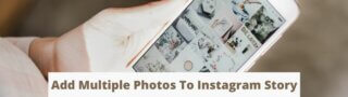 How to add multiple photos to Instagram Stories
