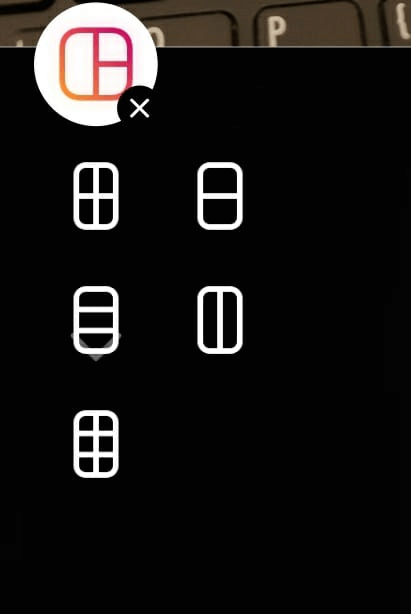 Add up to 6 photos in one Instagram Story